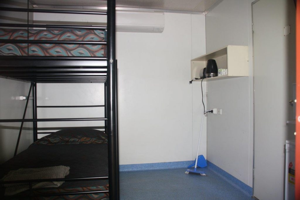 Ensuite Donga Room with Single Bunk Bed