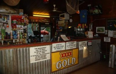 Daly River Roadside Inn Facilities, Daly River, NT. Public Bar